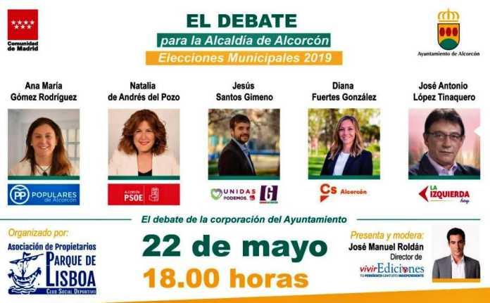 Vídeo del debate para la alcaldía de Alcorcón
