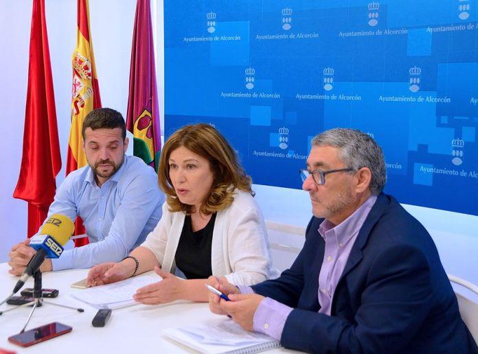 La alcaldesa de Alcorcón