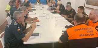 Casi un centenar de Policías Municipales cada día en las Fiestas del Alcorcón