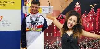 La periodista Lucia Mbomío y el nadador Carlos Hernández serán los pregoneros de las Fiestas de Alcorcón.