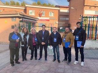 Los políticos de Alcorcón invitan a la participación el 10N
