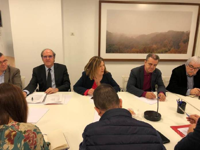 Reunión de los Alcaldes del PSOE del sur de Madrid en Alcorcón