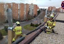 La borrasca Gloria también afecta a Alcorcón