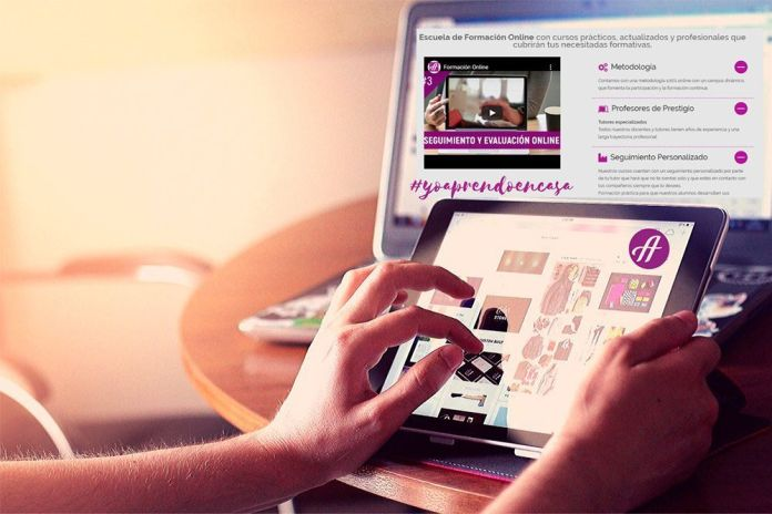 Yo aprendo en casa con Aranda Online