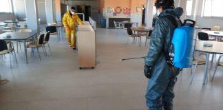 Los voluntarios de Bomberos de Alcorcón hacen frente al coronavirus