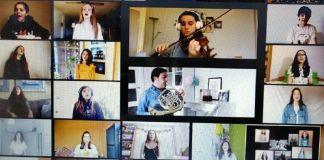 Antara Korai de Alcorcón homenajea a los que luchan contra el coronavirus
