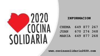 Cocina Solidaria 2020 en Alcorcón