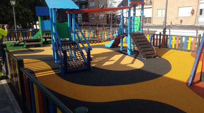 Reapertura zonas de juegos infantiles de Alcorcón