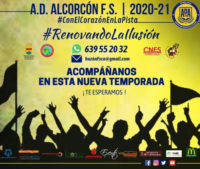 Fichajes y renovaciones en el Alcorcón FS
