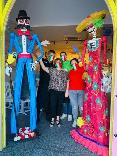 """Teresa Heras """"En el restaurante mexicano La Federala de Alcorcón queremos ser garantía de seguridad y diversión"""""""