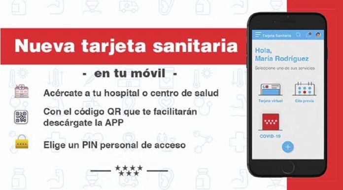 Los vecinos de Alcorcón ya pueden tener la Tarjeta Sanitaria en el Móvil