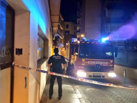 Incendio, accidente y estafas en Alcorcón