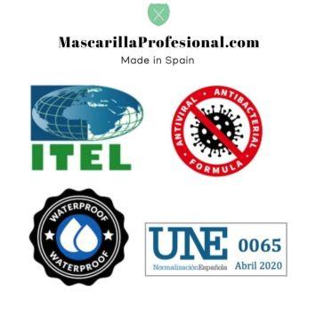 "Mascarillas personalizadas ""made in Alcorcón"""