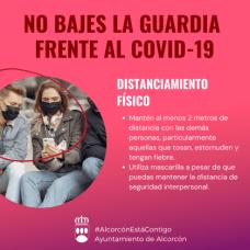 Plan-Covid19-Alcorcón-Distanciamiento