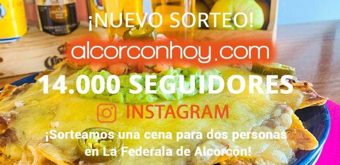 ¡Nuevo sorteo en Alcorcón! 14.000 seguidores en Instagram