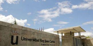 Pintadas contra el Rey Juan Carlos en la Universidad de Alcorcón