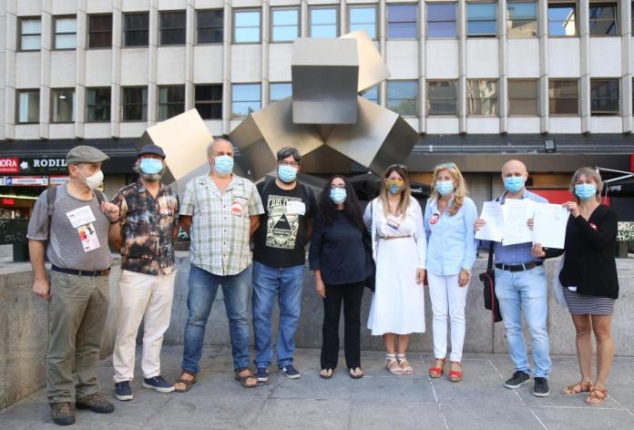Septiembre de huelgas y concentraciones en Alcorcón y en la Comunidad de Madrid