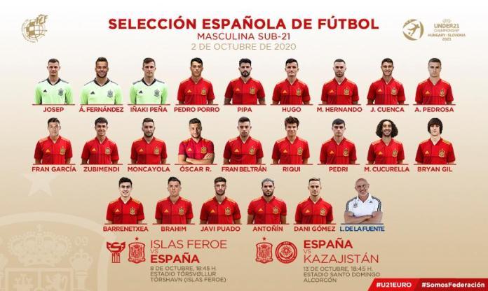 Una Selección Española con aroma de Alcorcón