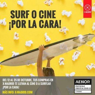 Ocio gratis en X-Madrid Alcorcón hasta el 25 de octubre