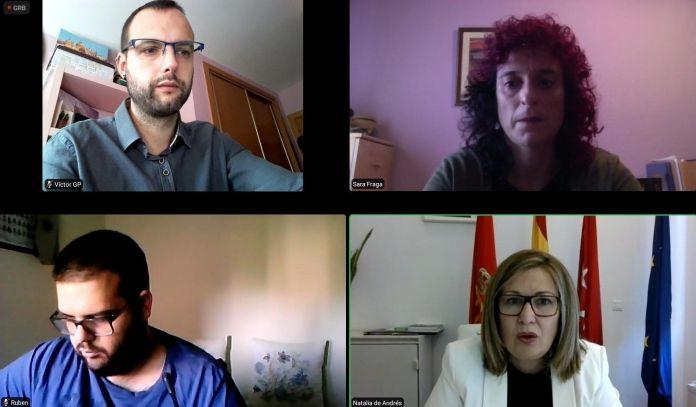 """Natalia de Andrés considera """"irresponsable"""" el comportamiento de los Concejales de Vox Alcorcón"""