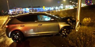 Accidente en Alcorcón a causa del alcohol