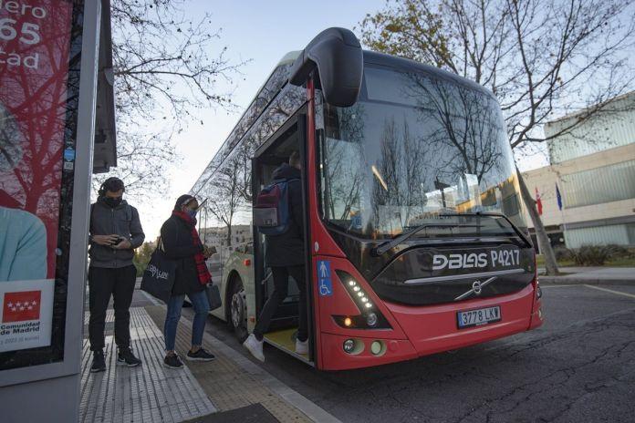 Llega el primer autobús 100% eléctrico a Alcorcón