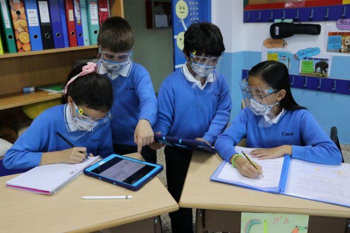 Los beneficios de las nuevas tecnologías en los colegios de Alcorcón