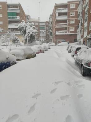 Alcorcón nieve
