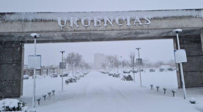 Se multiplican las urgencias en los hospitales de Alcorcón por Filomena