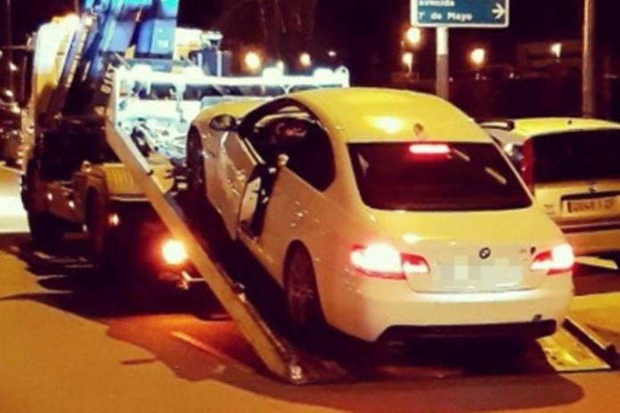 Pillan a un conductor bajo los efectos de anfetamina y metanfetamina en Alcorcón