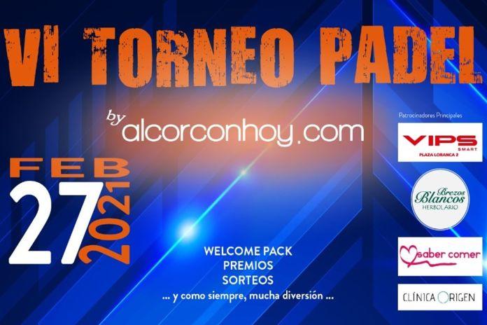 El torneo de pádel de alcorconhoy.com se juega al fin este sábado 27 de febrero en Alcorcón