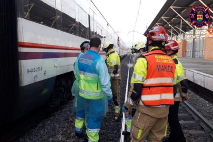 Muere una persona arrollada por un tren en Las Retamas de Alcorcón