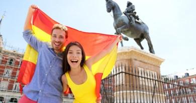 Happy Spaniards