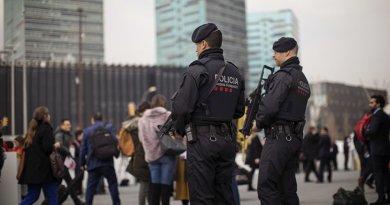 spain police terror alert