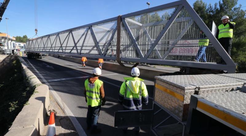 new bridge connecting cocentaina and alcoy