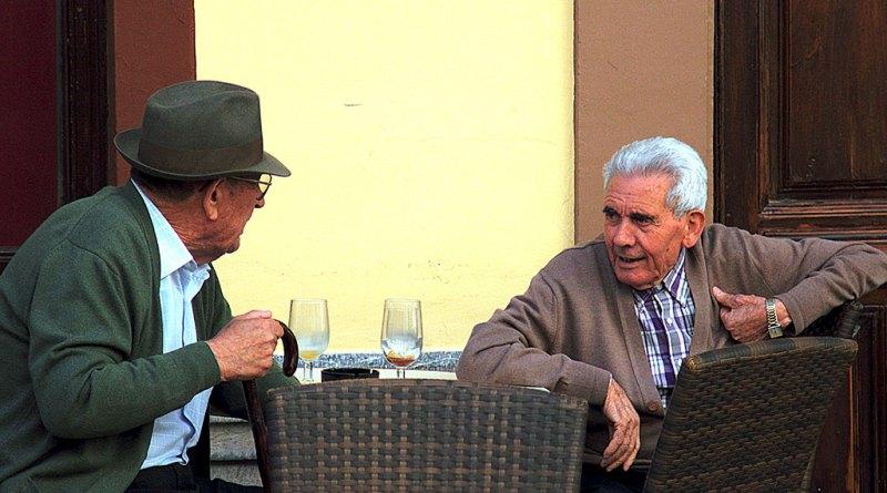old people in Spain
