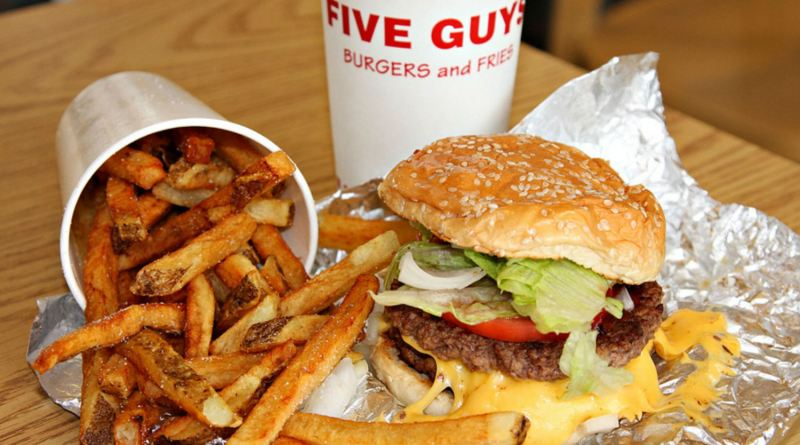 five guyts french fries