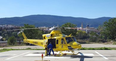 helicpoter hospital alcoy