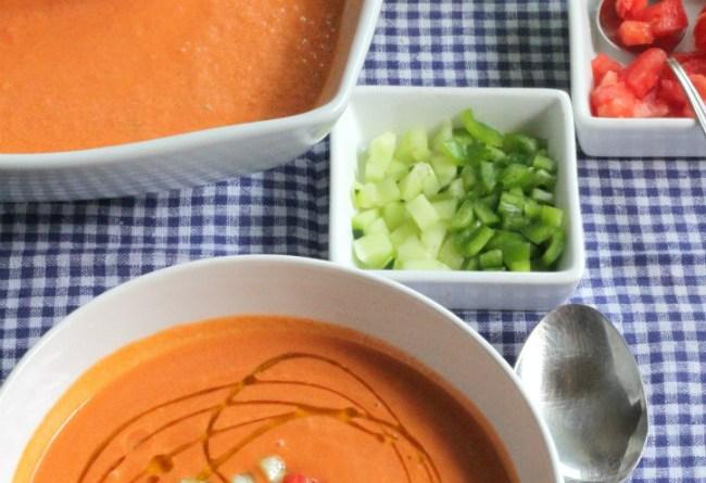 Andalusian Gazpacho soup