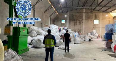 The Police detain a Moroccan textile business owner in Cocentaina