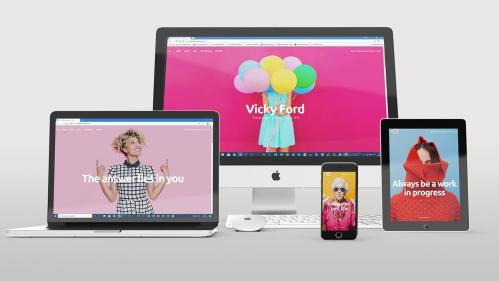 VF website Apple devices