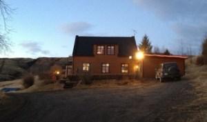 Farmhouse where convict was found, Iceland