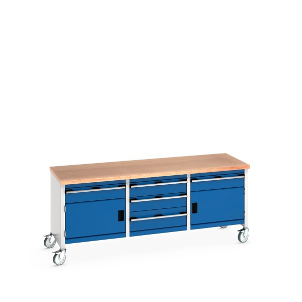 Mobile Storage Bench