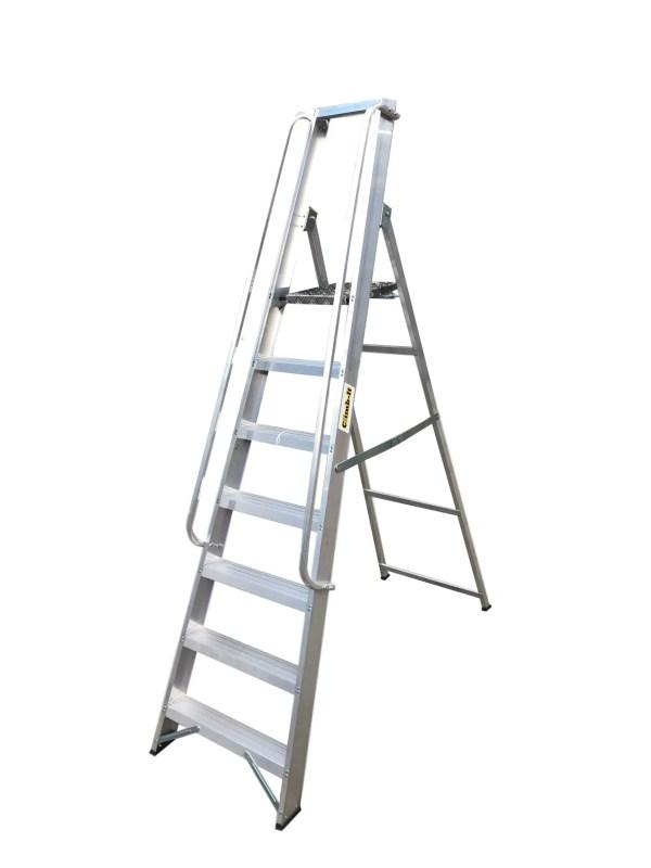 Aluminium Swingback Stepladders