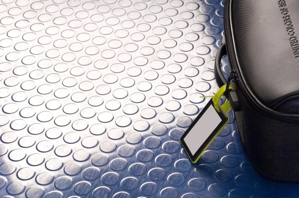 Studded Rubber Floor Tiles