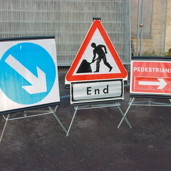 Folding Traffic Signs