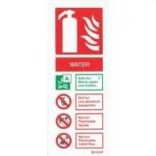Water Extinguisher Sign