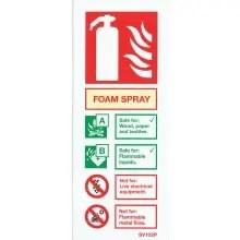 Foam Spray Sign