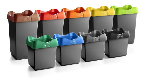 50 Litre Open Top Recycling Bins
