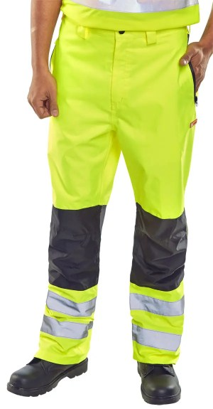 Contrast Hi Visibility Trousers